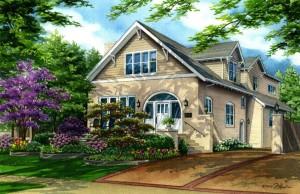 Clayton home copyright 2015 Richelle Flecke