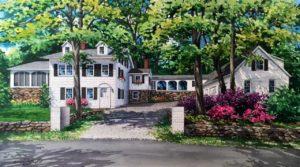 Chappaqua house portrait (c) 2017 Richelle Flecke