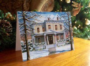 Christmas card front image (c) Richelle Flecke