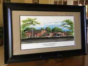 Framed Faith Lutheran Church © 2020 Richelle Flecke